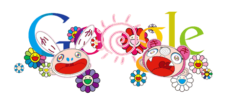 takashi murakami, google doodle