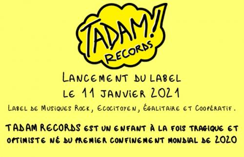 tadam records, yann landry, indé